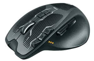 Logitech G700S Gaming Mouse Front Side view