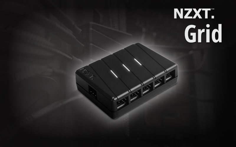 NZXT Grid 10 Channel Fan Hub
