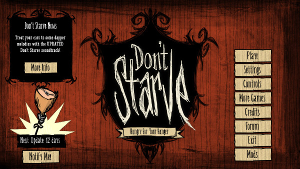 Don't Starve Game Review