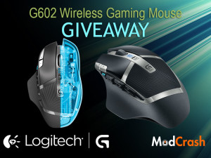 Logitech G602 Wireless Gaming Mouse Giveaway | ModCrash